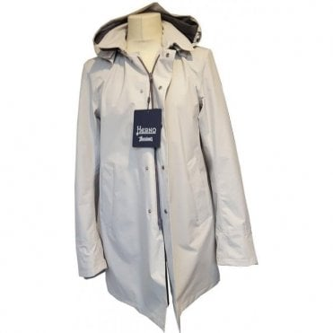 Herno Beige Hooded GORE-TEX Raincoat IM019UL 11101 1300
