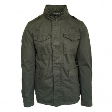 Herno Green Woven Jacket