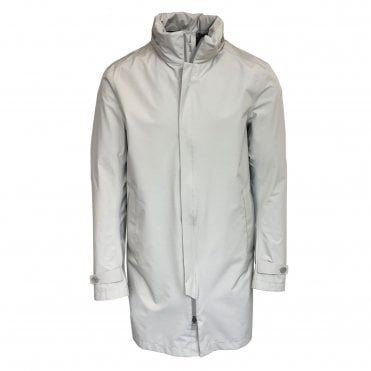 Herno Light Beige 'Laminar' Raincoat