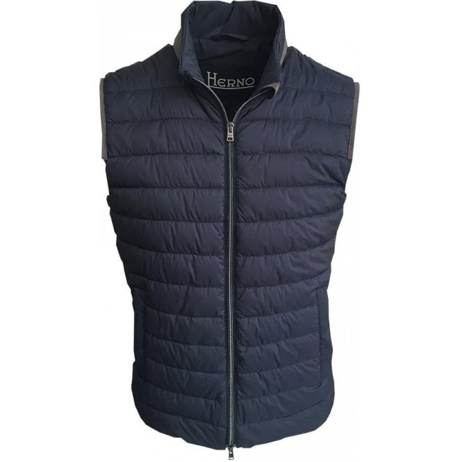 Down gilet navy Herno Clearance Pick A Best Sale Purchase Cheap Looking For LSgJSw6Yu