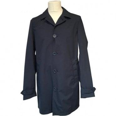Herno Navy Lightweight Coat IM0153U 19348 9200