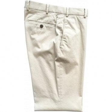 Hiltl 'Porter' Contemporary Fit Beige Chinos 73721 38