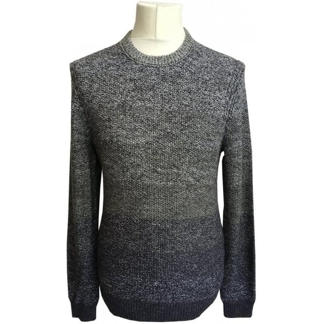 Hugo Boss 'Arduage' Green/Grey Knitted Jumper 50373703