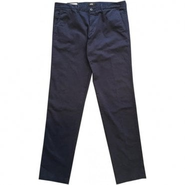 Hugo Boss 'Crigan3-D' Navy Italian Stretch Cotton Chinos 50374631