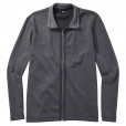 Hugo Boss 'FOSSA07' Full Zip Reversible Sweatshirt in Dark Grey.