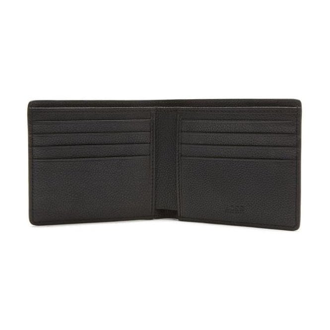 Hugo Boss 'Gb17FW_8cc' Black Leather card case and wallet gift set with embossing 50375127
