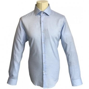 Hugo Boss 'Glent' Light Pastel Blue Patterned Shirt 50374882