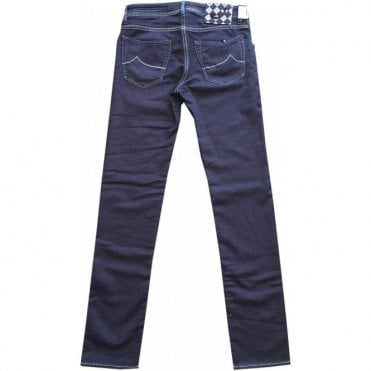 Jacob Cohen Blue Cotton/Wool Blend Jeans J622 Comf 0757-001