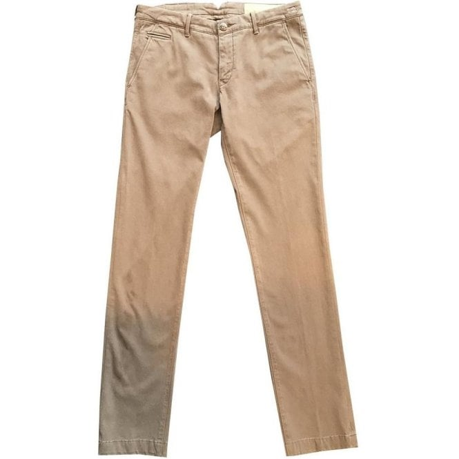 Jacob Cohen 'Bobby Comf' Brown Chinos 8779-461