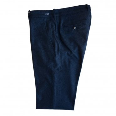 Jacob Cohen 'Bobby Wool' Blue Trouser