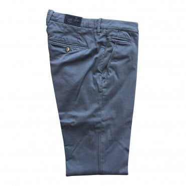 Jacob Cohen Dark Blue Chino with Navy Badge Bobby Bo Stitch