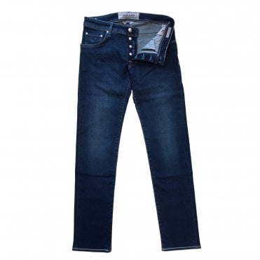 Jacob Cohen Dark Denim Wash Jean