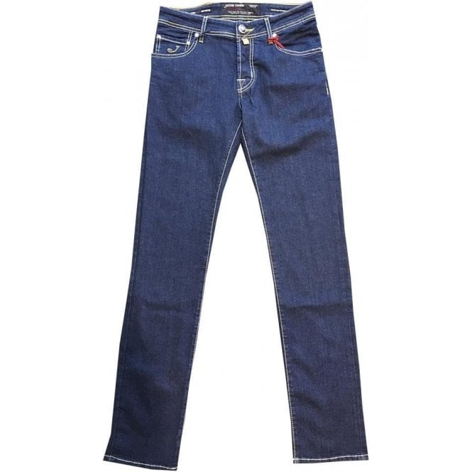 Jacob Cohen Denim Jeans With Varied Back Belt Loops J622 COMF 0979-001