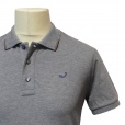 Jacob Cohen J457 Stretch Cotton Polo Shirt in Grey. 07029187