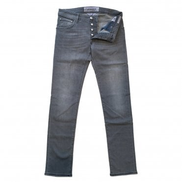 Jacob Cohen Light Grey Denim Jean