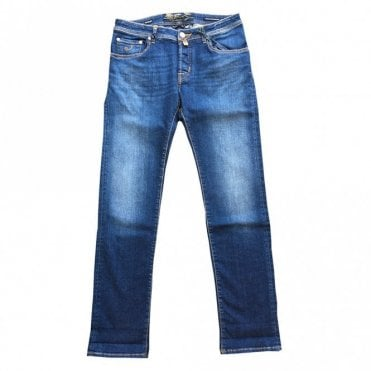 Jacob Cohen Limited Edition Blue Denim Jeans