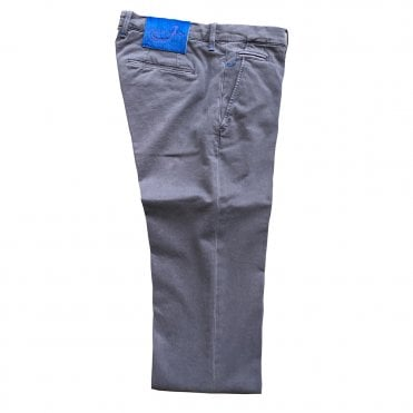 Jacob Cohen Navy Chino with Royal Blue Back Belt Patch Bobby Bo Stitch