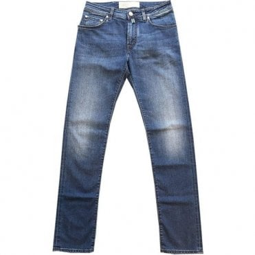 Jacob Cohen PW625 Comf Mid-Wash Jeans