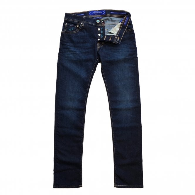 Jacob Cohen Special Edition Dark Wash Jeans