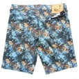 Jacob Cohen Turquoise Butterfly Print Stretch Shorts J6636 COMF 1041-B804