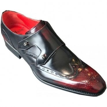 Jeffery West Jigeary Book Burgundy Shoe