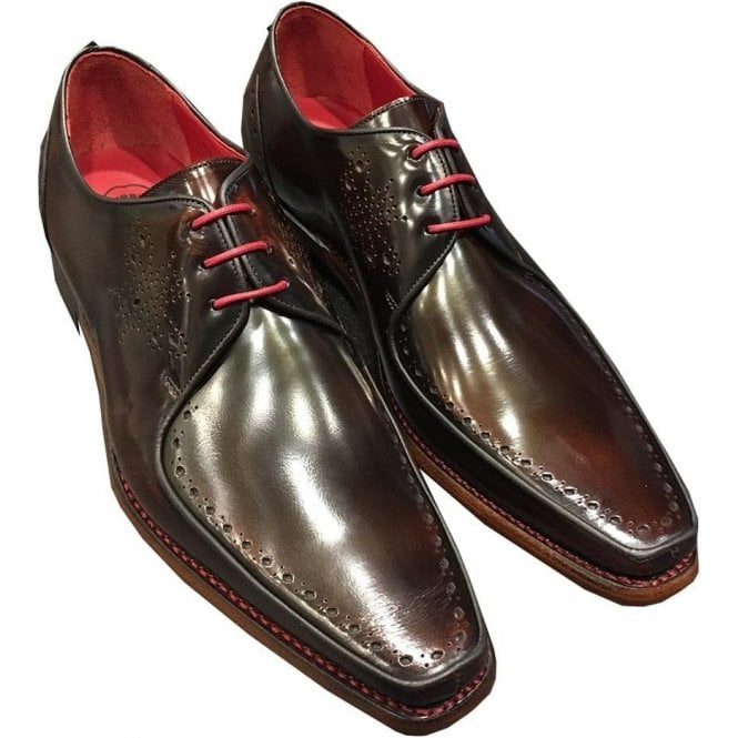 Jeffery West 'Surreal Melly Cardenal' Dark Brown Polish Leather Shoes