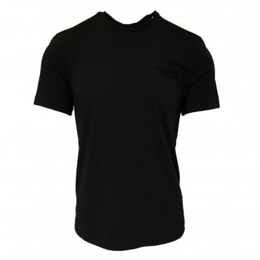 John Varvatos Black Pocket T-shirt