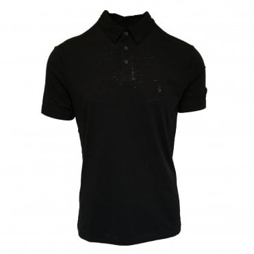 John Varvatos Black Polo