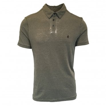 John Varvatos Green Polo