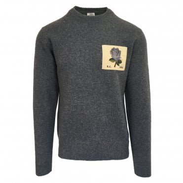 Kent & Curwen Grey Knitted Jumper