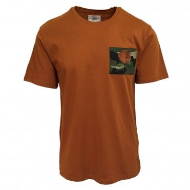 Kent & Curwen Orange Camo Patch T-Shirt