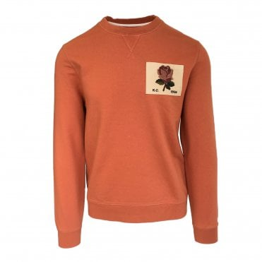 Kent & Curwen Orange Sweatshirt