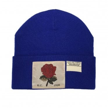 Kent & Curwen Royal Blue Wool Hat