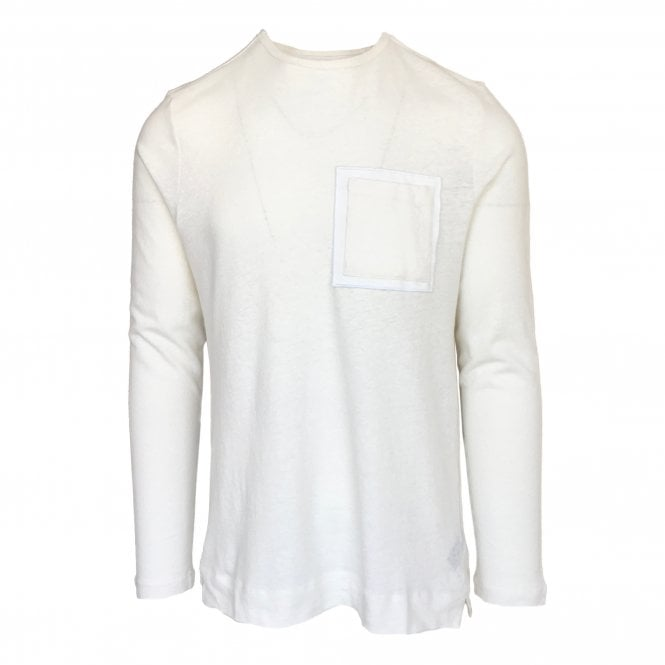Limitato 'Duke of Feria' White Long-Sleeve T-Shirt