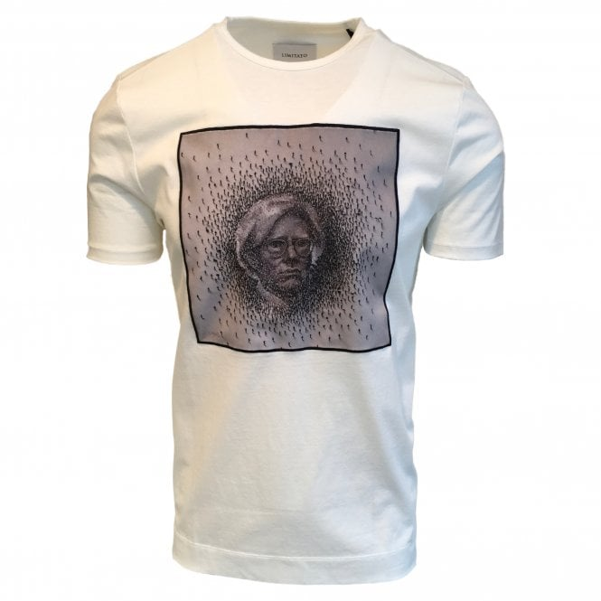 Limitato 'Grand Effect A Warhol' White T Shirt