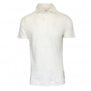 Limitato 'Riviera' White Polo Shirt