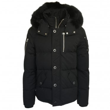 Moose Knuckles '3Q' Black Down Coat