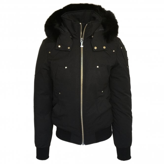 Moose Knuckles 'Ballistic' Black Down Coat