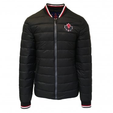 Moose Knuckles Black 'Beaugrand' Jacket