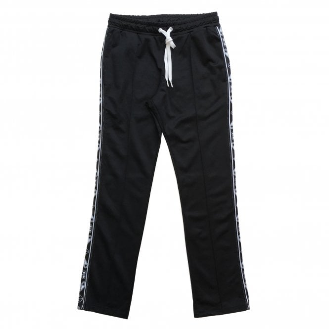 Moose Knuckles Black 'Jean Talon' Jogging Bottoms