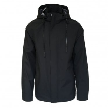 Moose Knuckles Black 'Lead Rider' Jacket