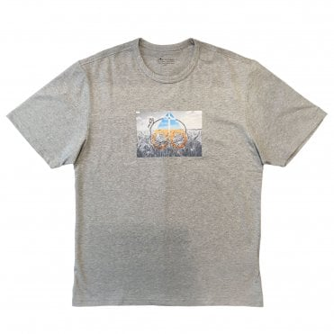 Moose Knuckles Grey 'Prairie' T-shirt