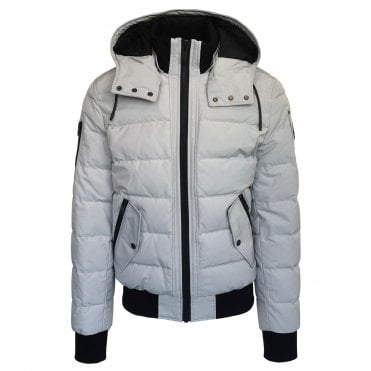 Moose Knuckles 'Rocher' Grey Birch Down Coat