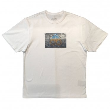 Moose Knuckles White 'Prairie' T-shirt