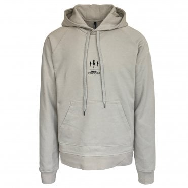 Neil Barrett Beige Triptych Thunder Hooded Sweatshirt