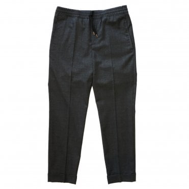Neil Barrett Graphite Turned-Up Cuff Trouser