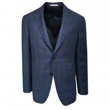 Pal Zileri Blue Check Jacket