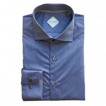 Pal Zileri Blue Shirt