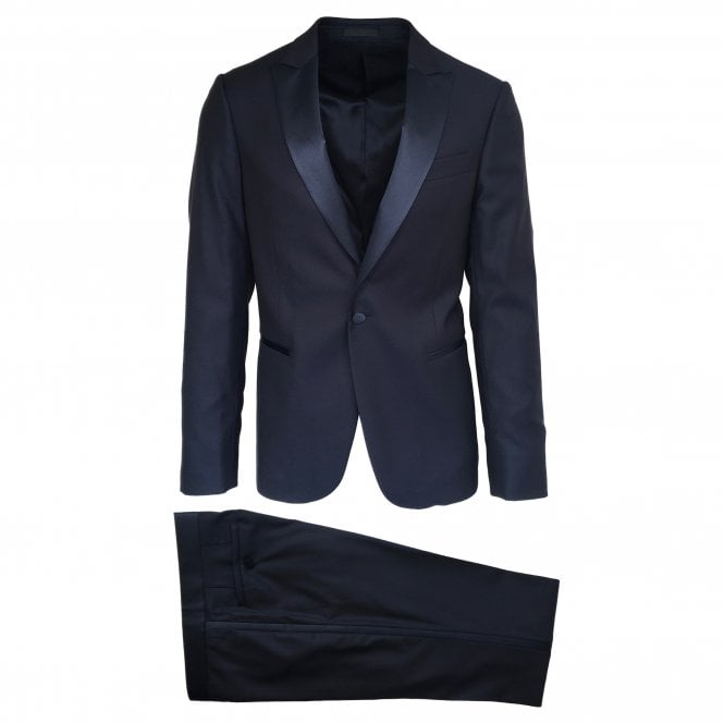 Pal Zileri Navy Dress Suit