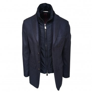 Pal Zileri Navy Scooter Jacket